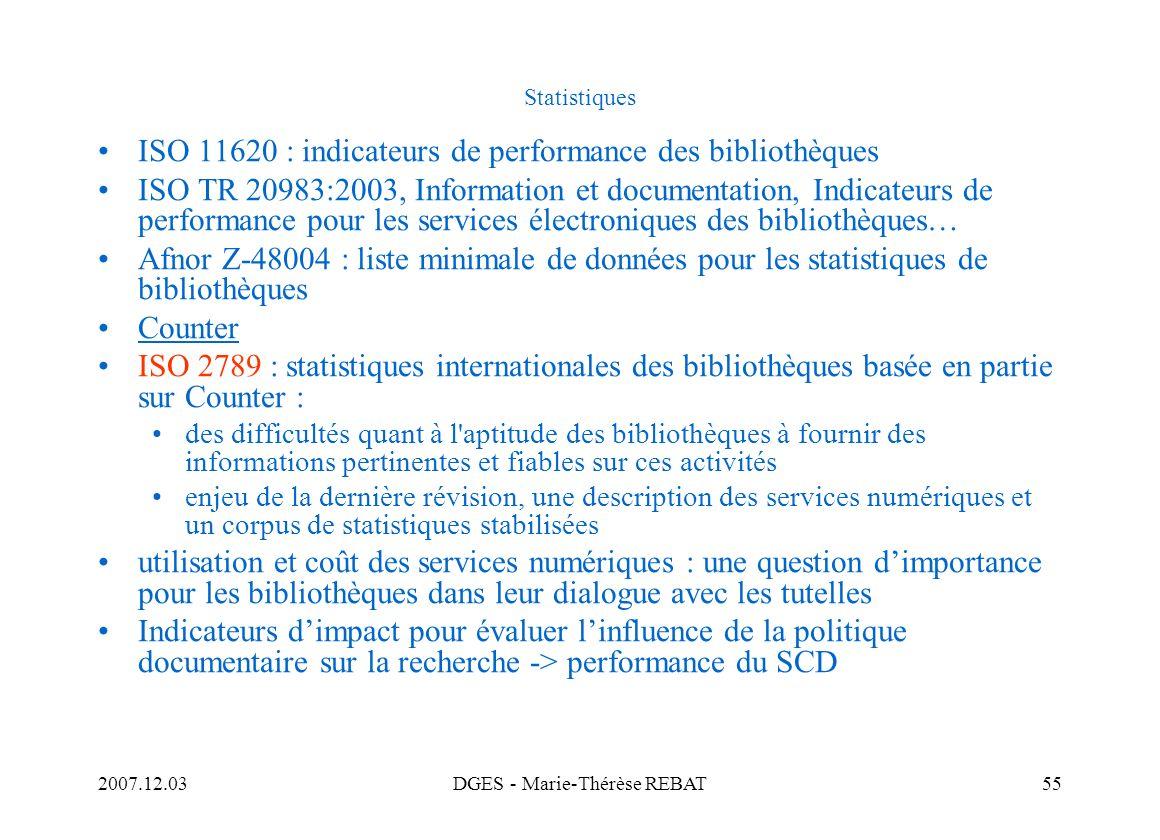 DGES - Marie-Thérèse REBAT