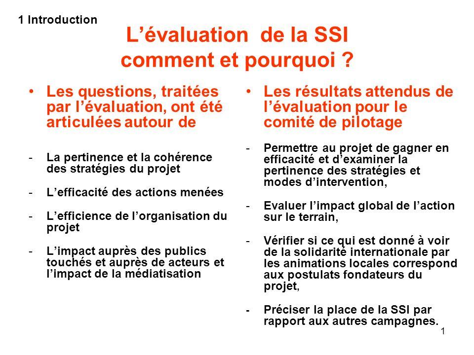 L'évaluation de la SSI comment et pourquoi
