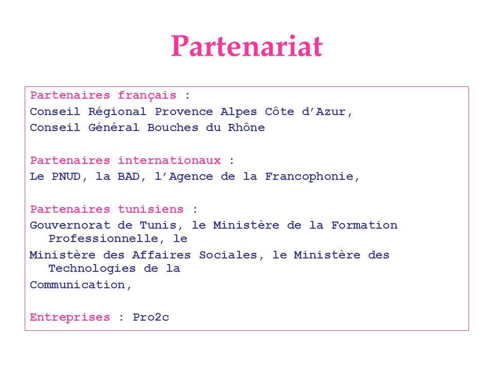 Partenariat Partenaires français :