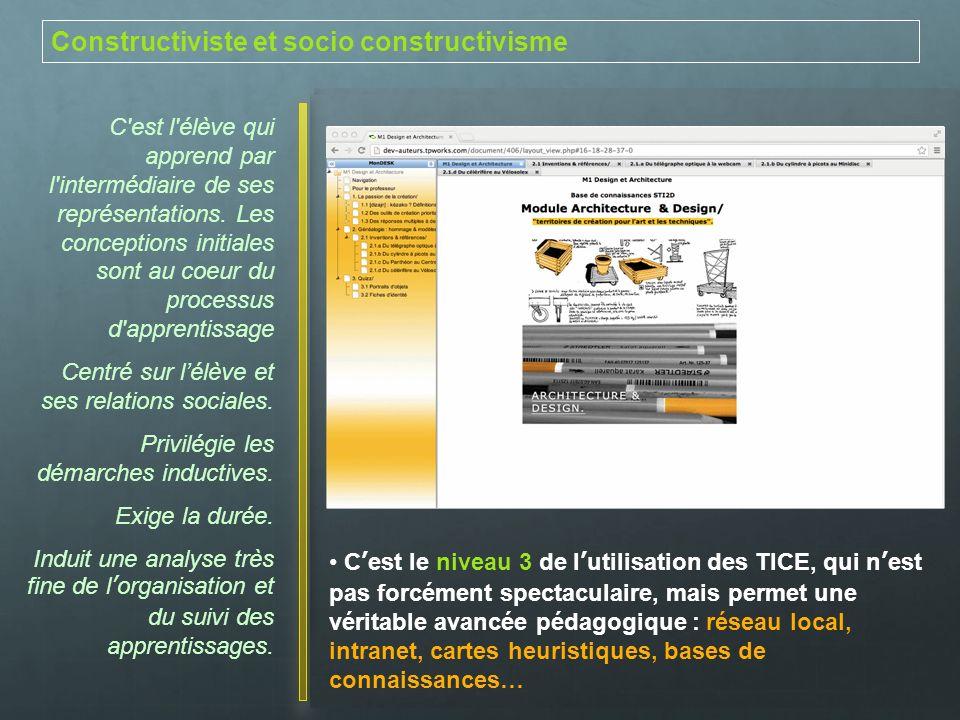 Constructiviste et socio constructivisme
