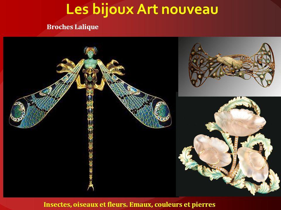 Les bijoux Art nouveau Broches Lalique