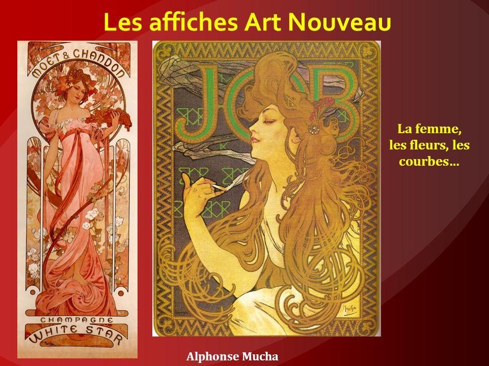Les affiches Art Nouveau