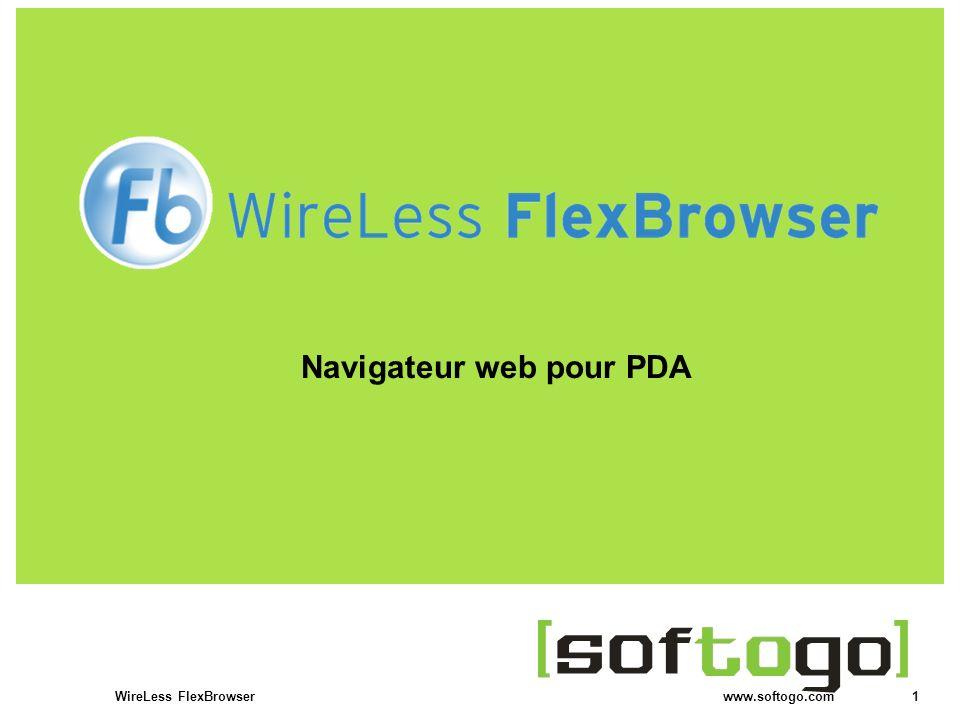 Navigateur web pour PDA