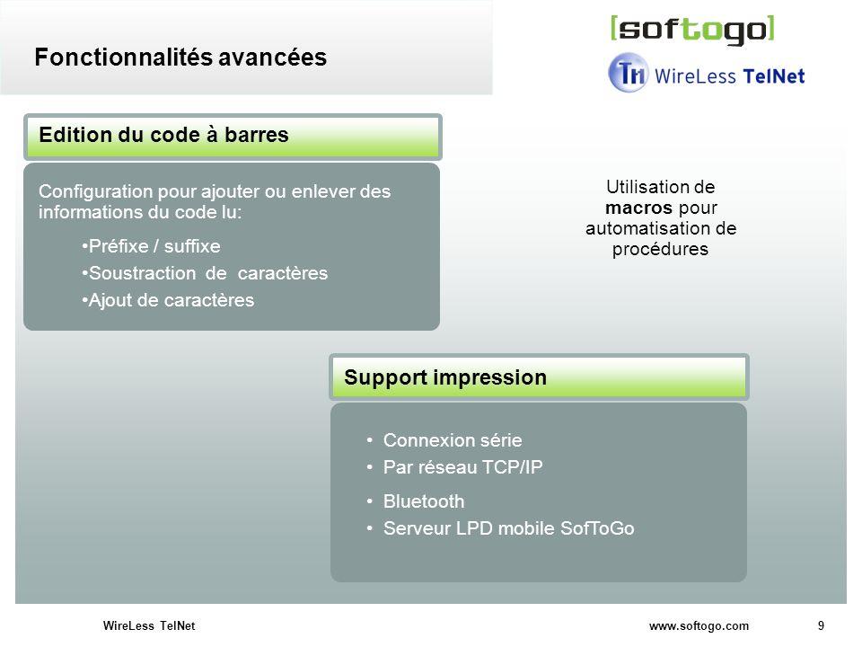 Utilisation de macros pour automatisation de procédures