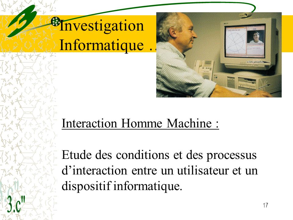 Investigation Informatique …