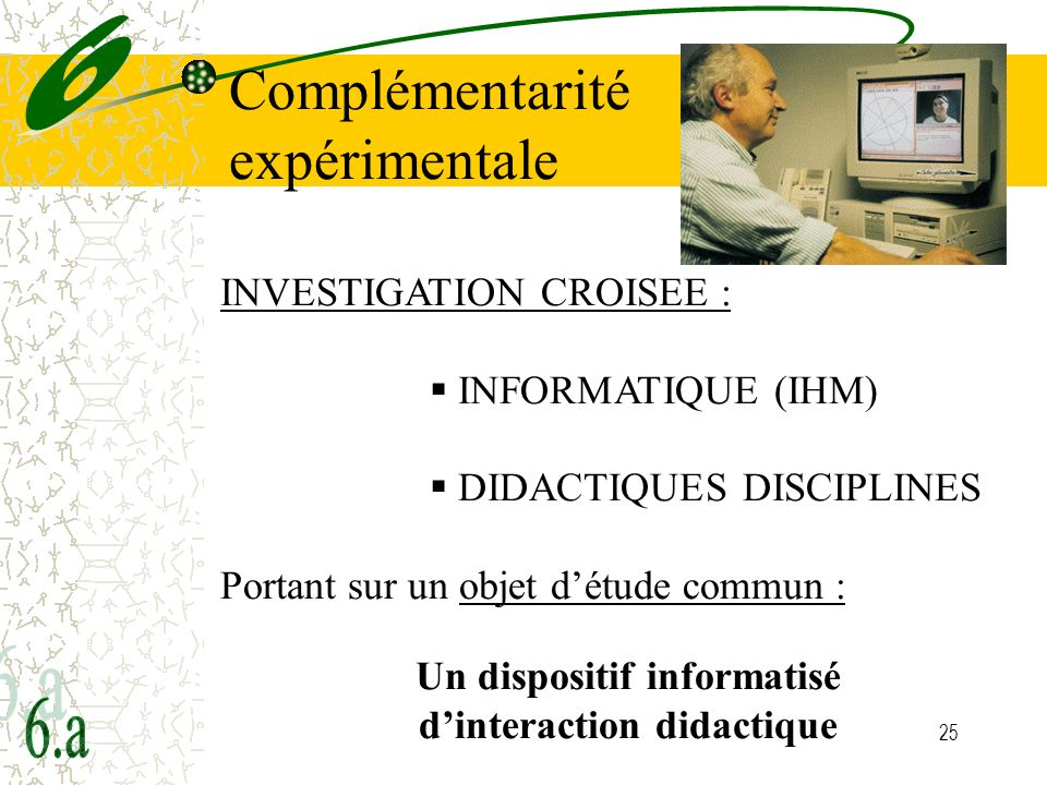 Un dispositif informatisé d'interaction didactique