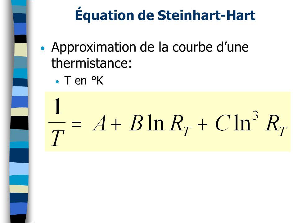 Équation de Steinhart-Hart