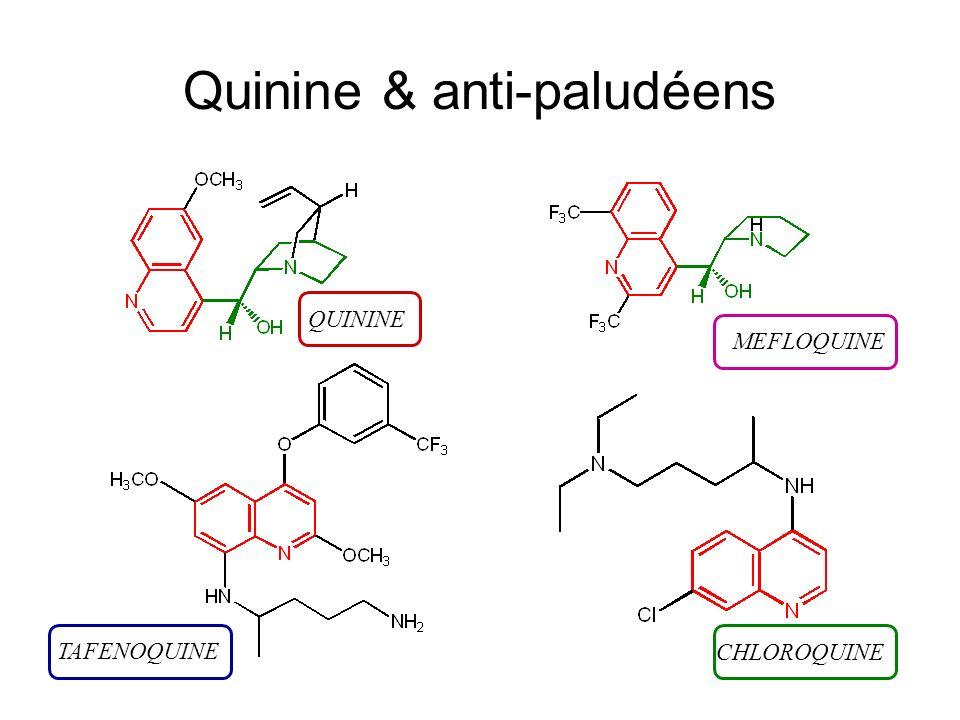 Quinine & anti-paludéens