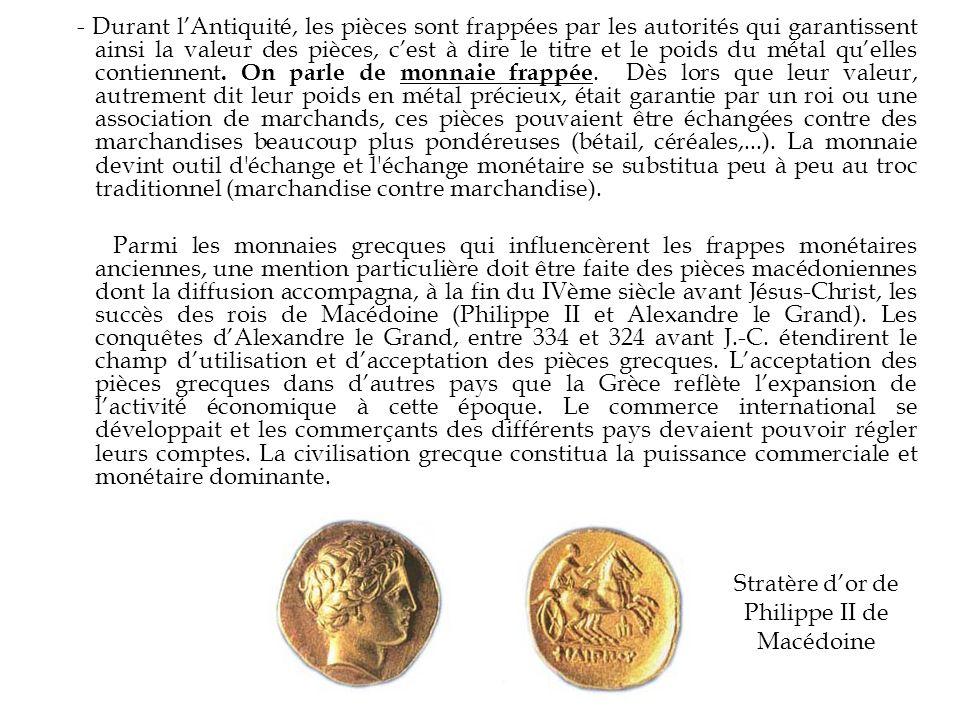 Stratère d'or de Philippe II de Macédoine