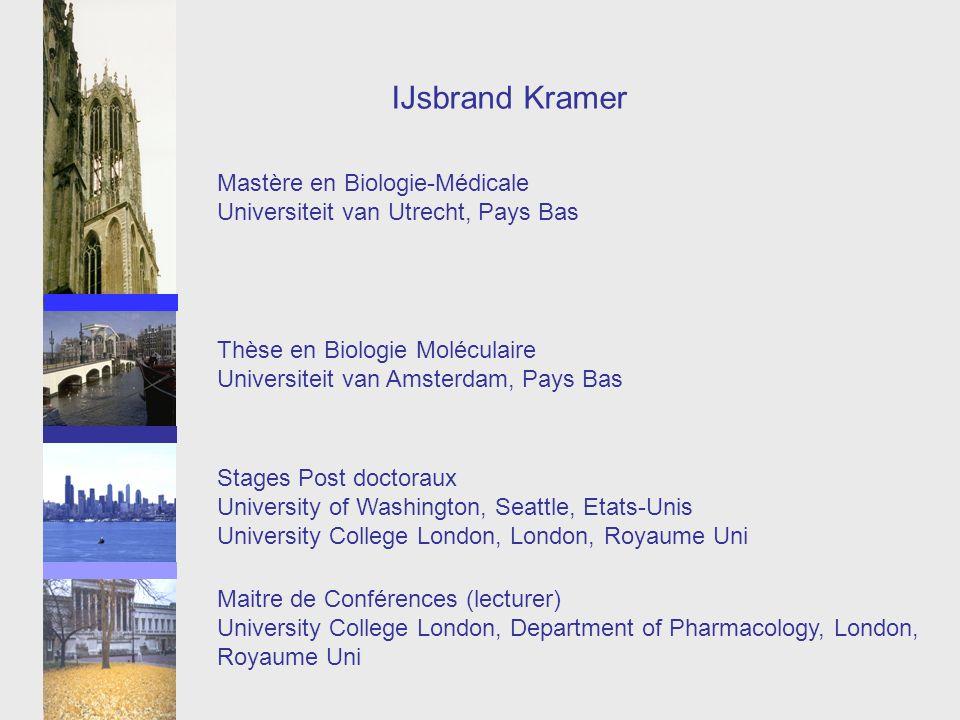 IJsbrand Kramer Mastère en Biologie-Médicale
