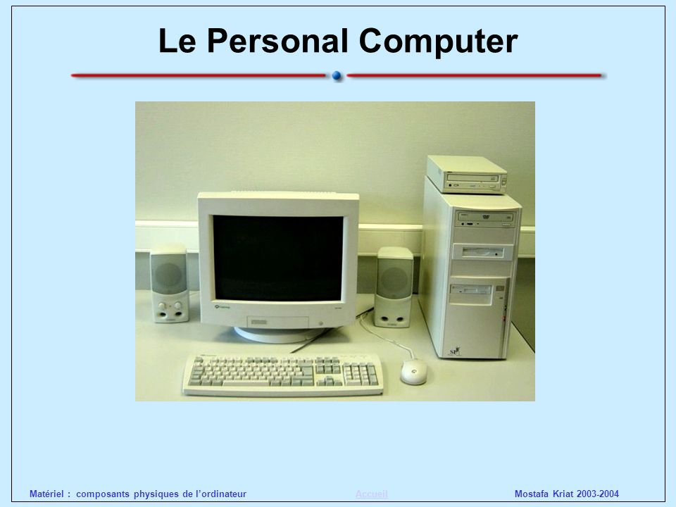 Le Personal Computer