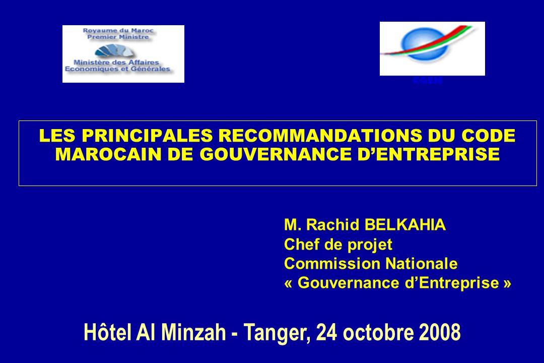 Hôtel Al Minzah - Tanger, 24 octobre 2008