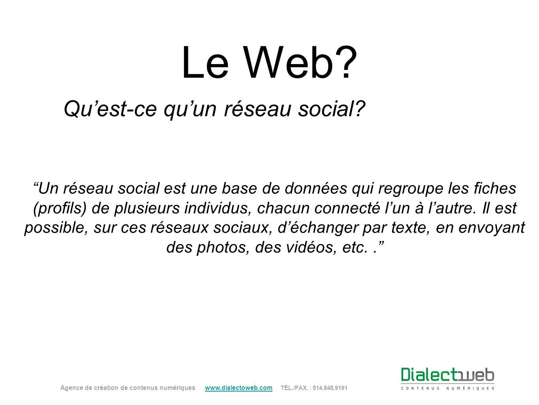 Qu'est-ce qu'un réseau social