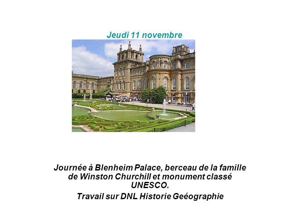 Travail sur DNL Historie Geéographie