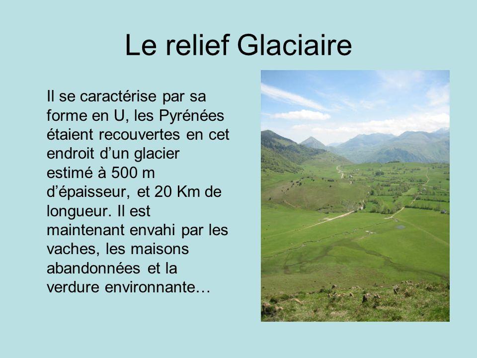 Le relief Glaciaire