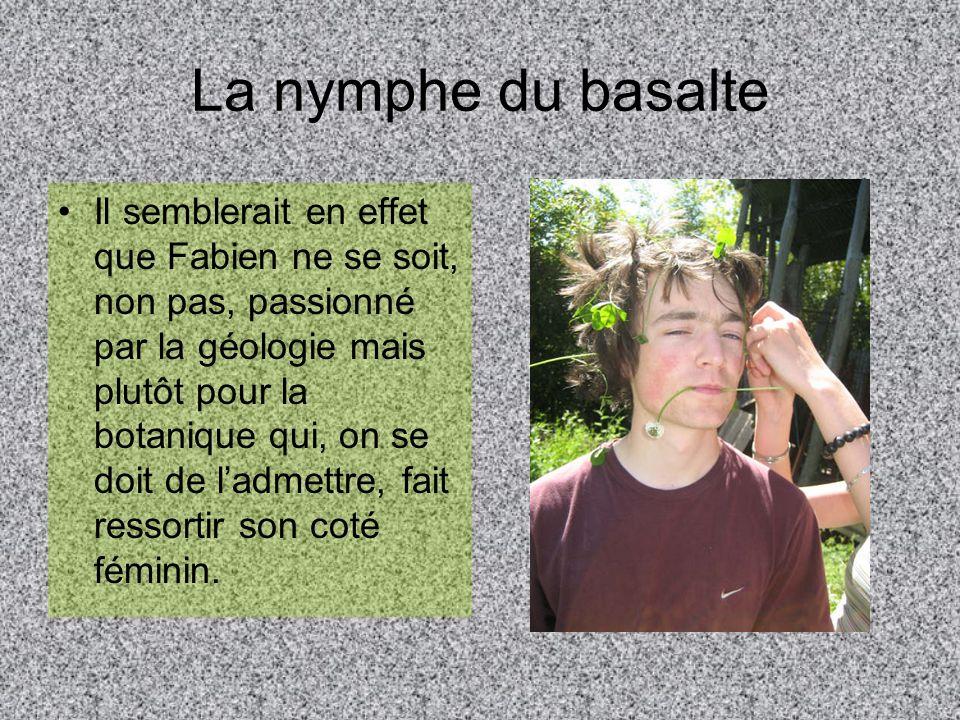 La nymphe du basalte