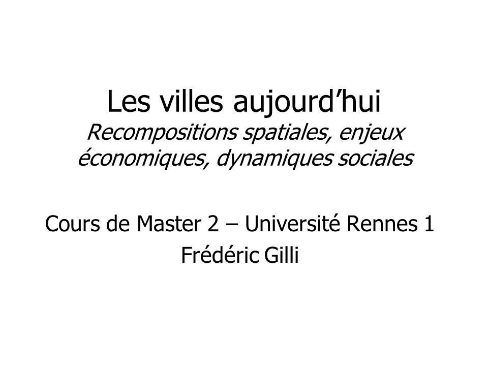 Cours de Master 2 – Université Rennes 1 Frédéric Gilli