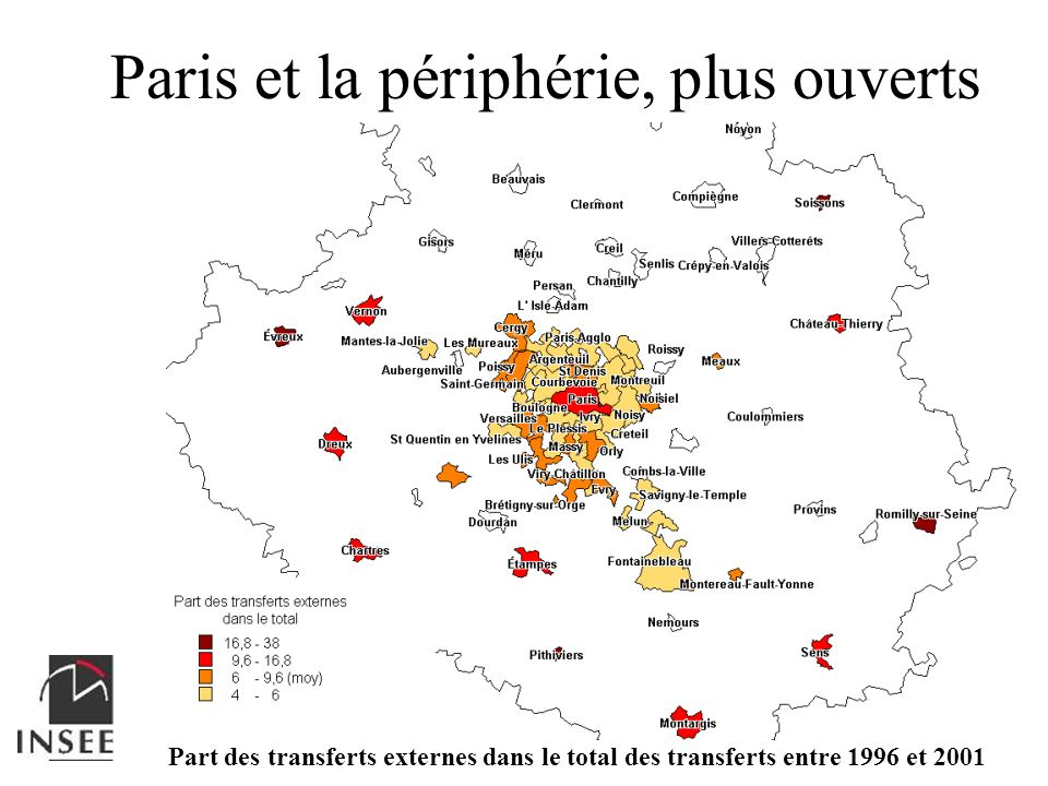 Paris et la périphérie, plus ouverts
