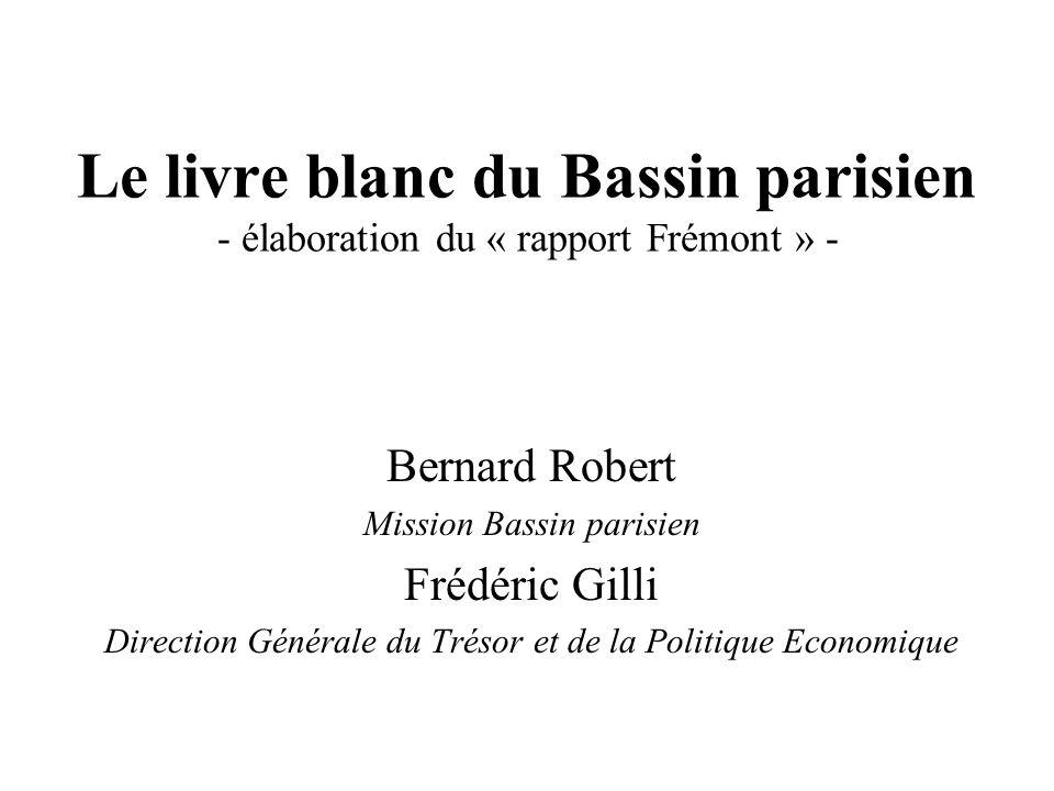 Le livre blanc du Bassin parisien - élaboration du « rapport Frémont » -