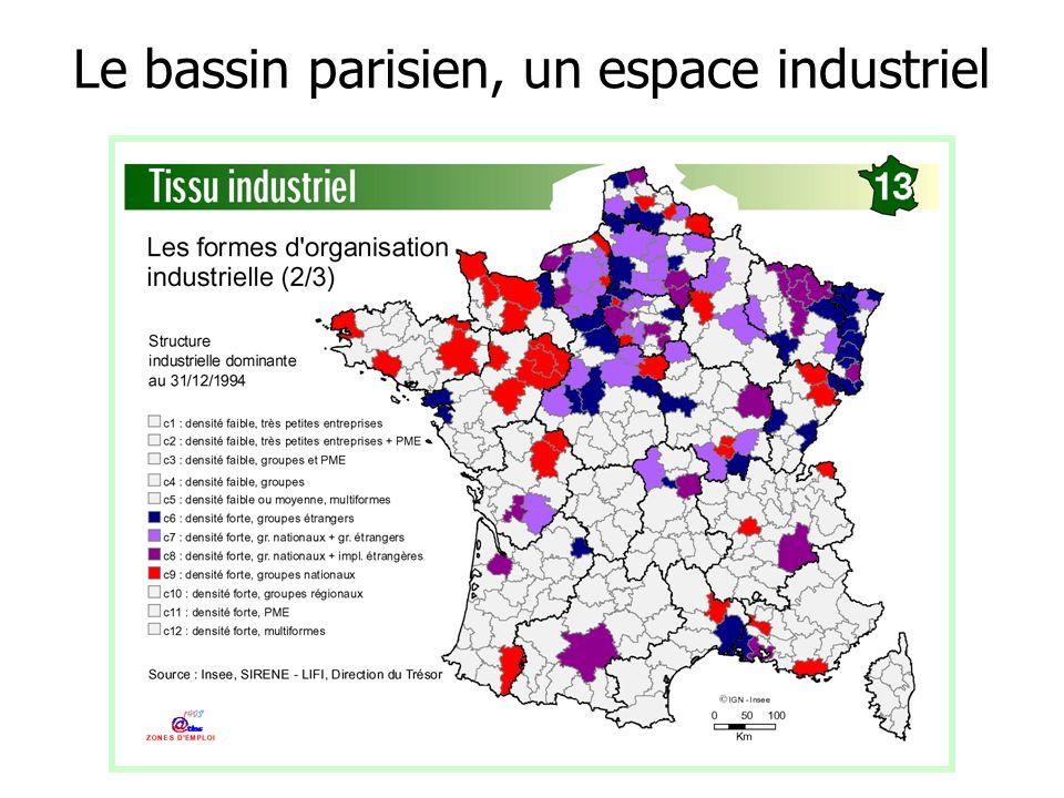 Le bassin parisien, un espace industriel