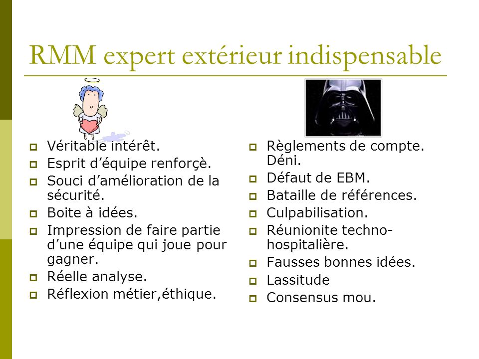 RMM expert extérieur indispensable