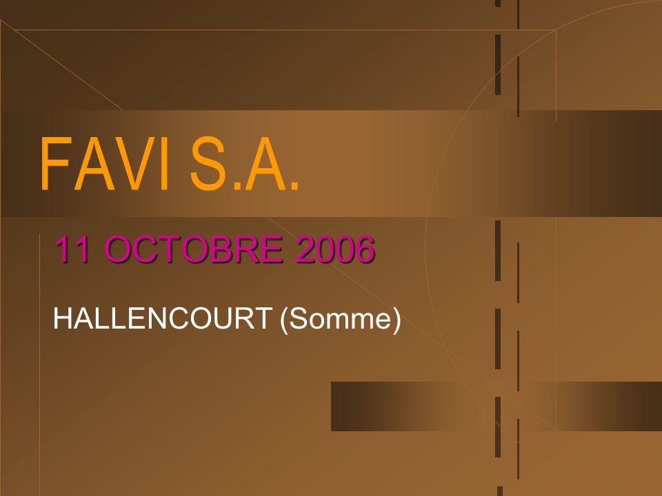 11 OCTOBRE 2006 HALLENCOURT (Somme)