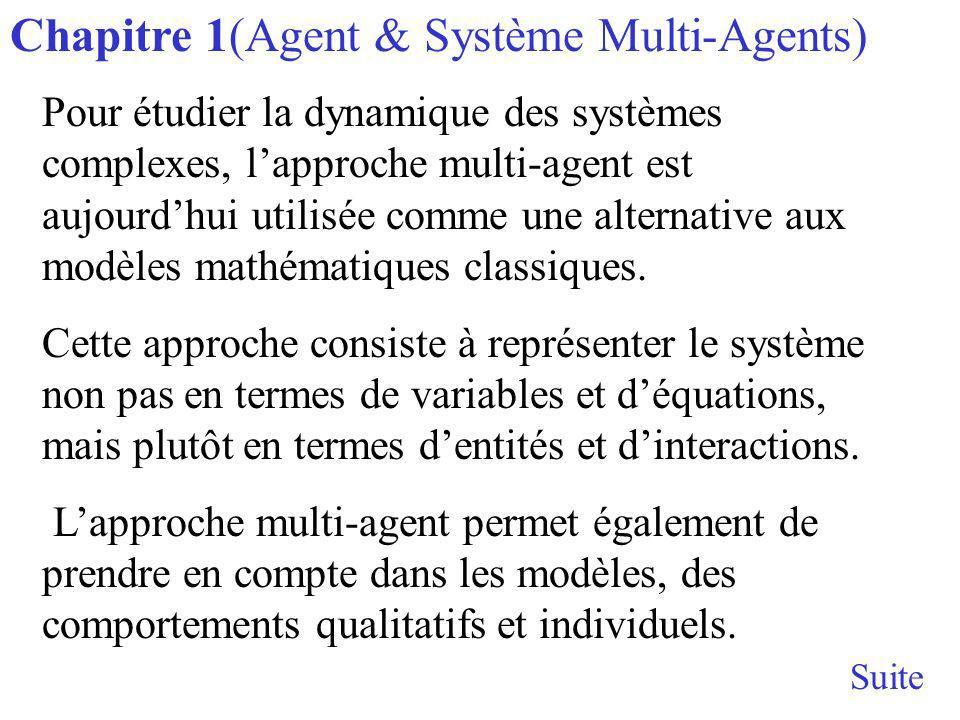 Chapitre 1(Agent & Système Multi-Agents)