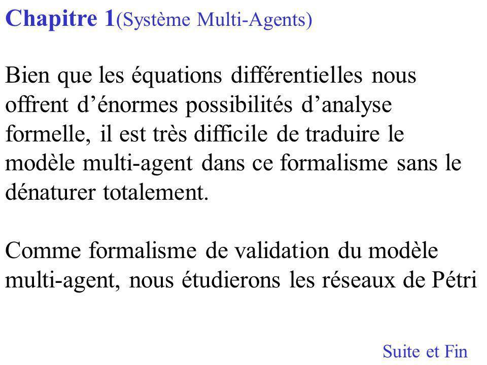 Chapitre 1(Système Multi-Agents)