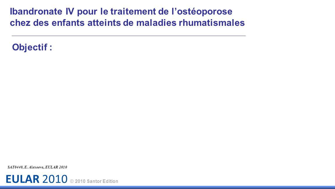 Ibandronate IV pour le traitement de l'ostéoporose chez des enfants atteints de maladies rhumatismales