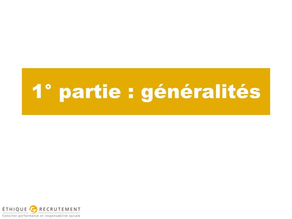 1° partie : généralités
