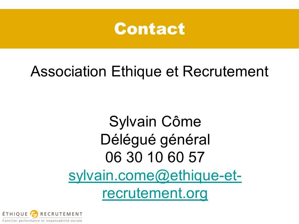 Association Ethique et Recrutement