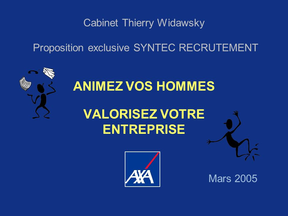 Cabinet Thierry Widawsky Proposition exclusive SYNTEC RECRUTEMENT