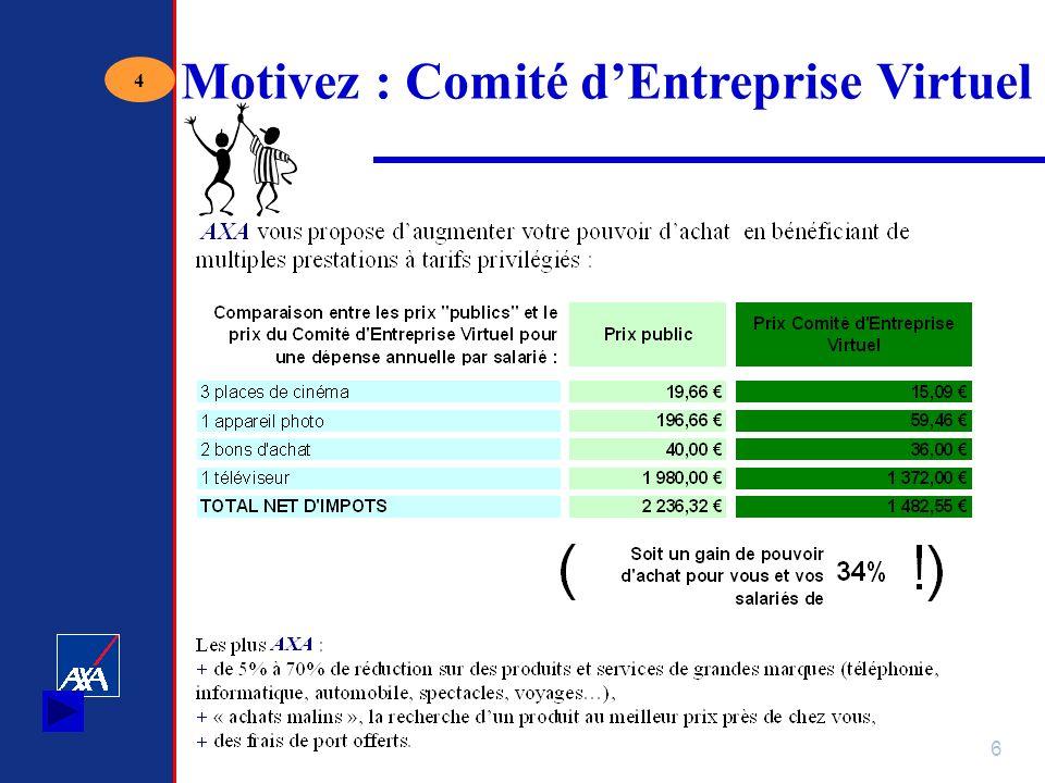 Motivez : Comité d'Entreprise Virtuel