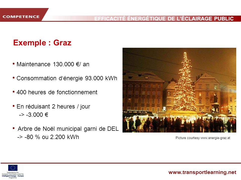 Exemple : Graz Maintenance 130.000 €/ an