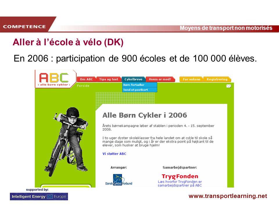 Aller à l'école à vélo (DK)