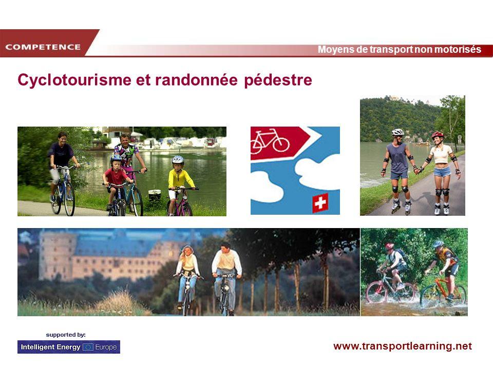 Cyclotourisme et randonnée pédestre