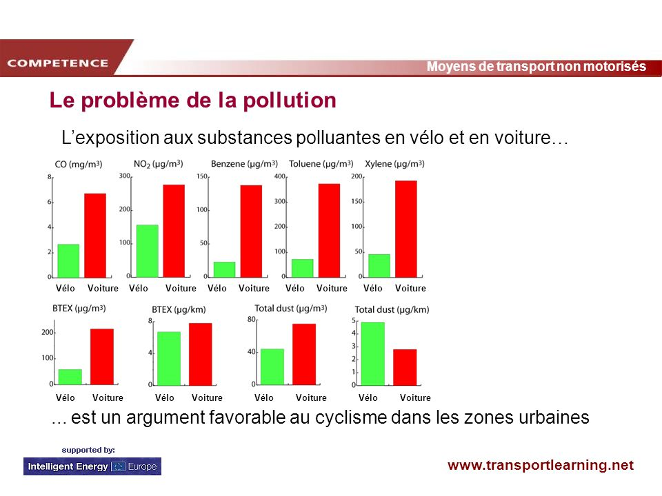 Le problème de la pollution