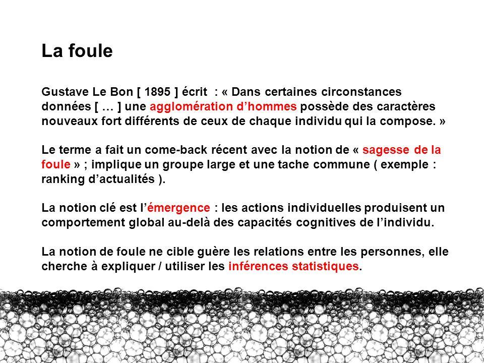 II – Foule La foule.
