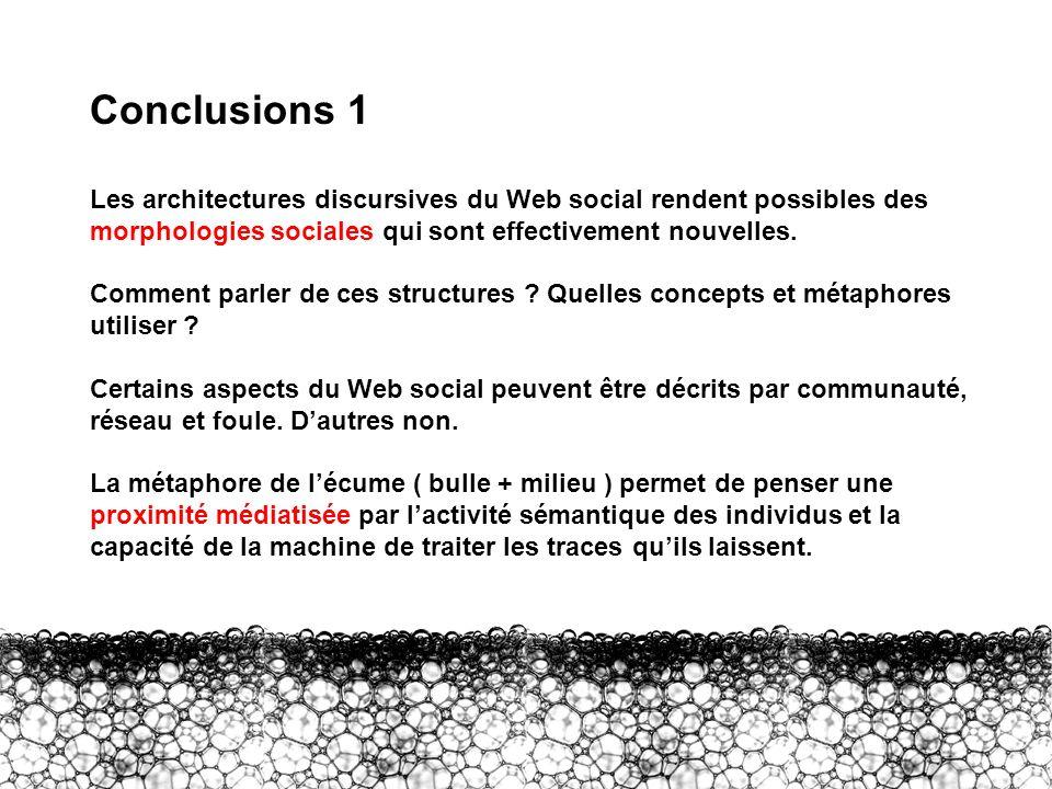 Conclusions 1 Conclusions 1.