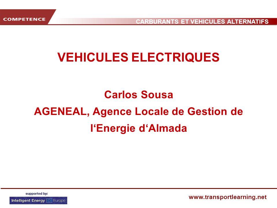 VEHICULES ELECTRIQUES Carlos Sousa AGENEAL, Agence Locale de Gestion de l'Energie d'Almada