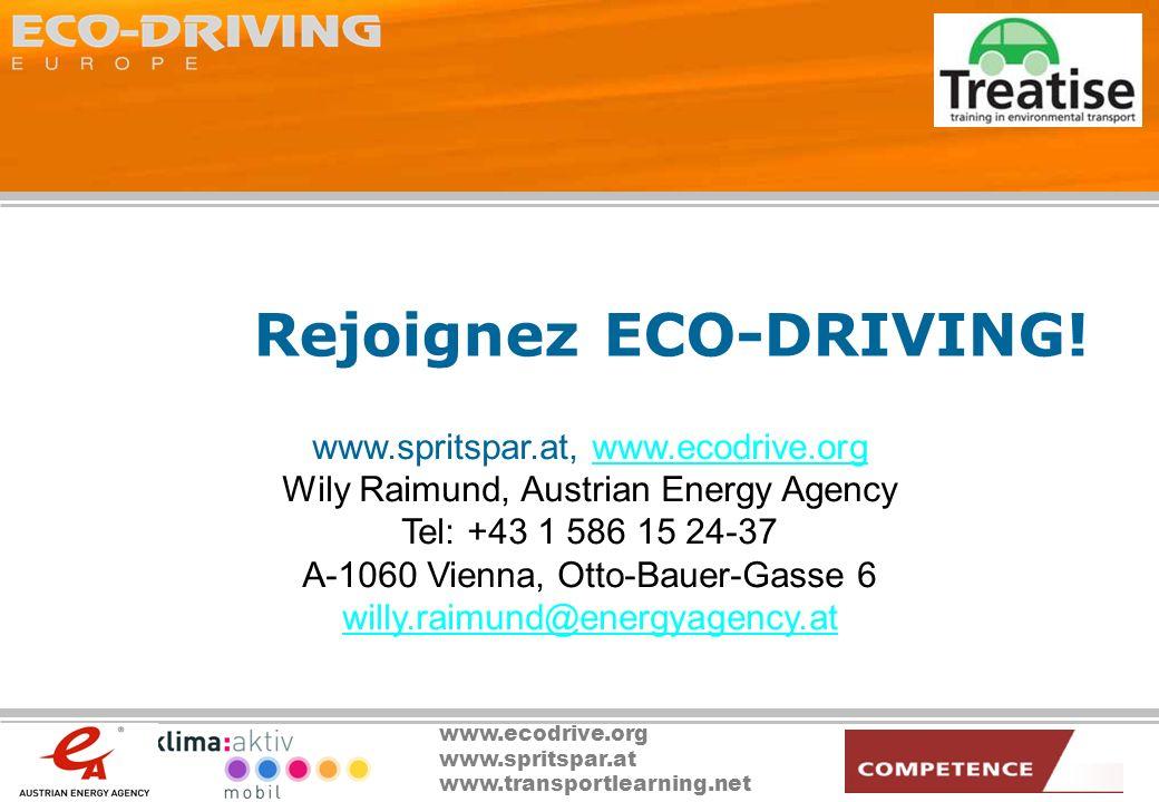Rejoignez ECO-DRIVING!