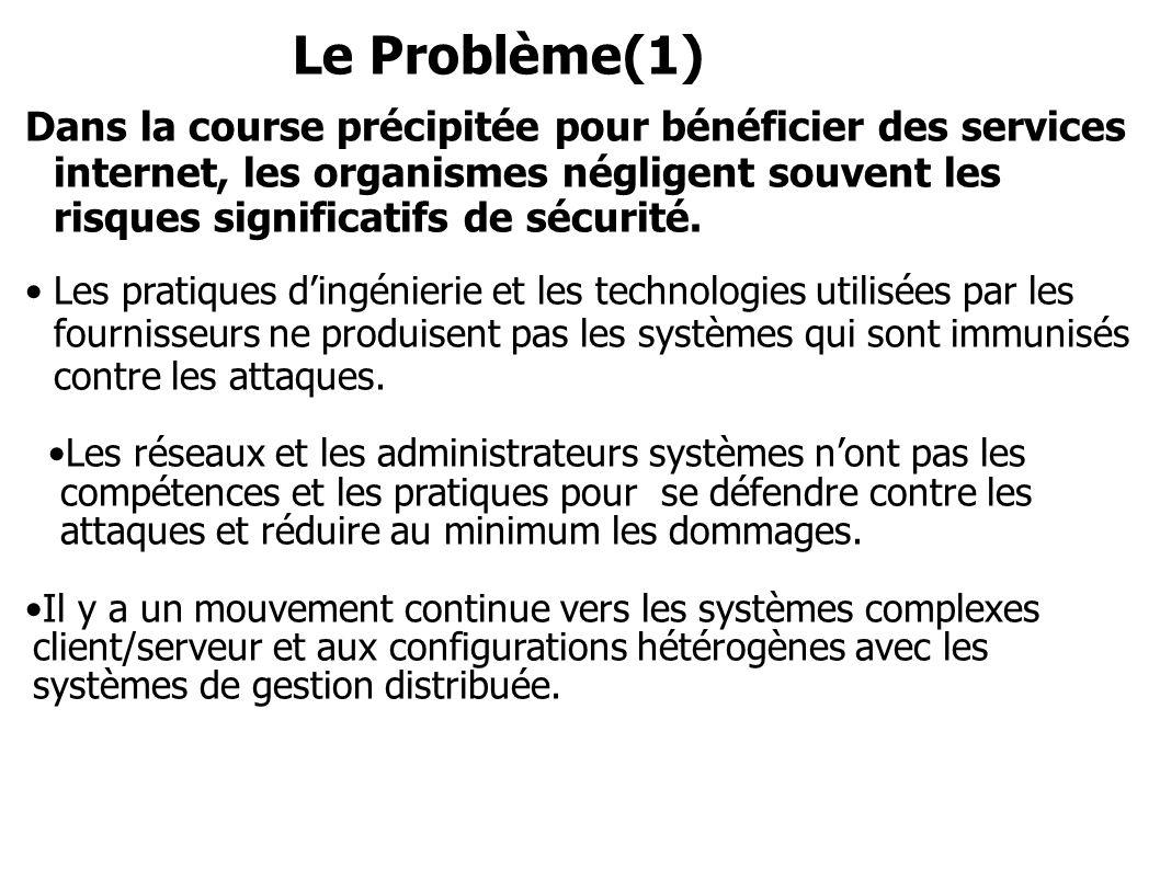 Le Problème(1)