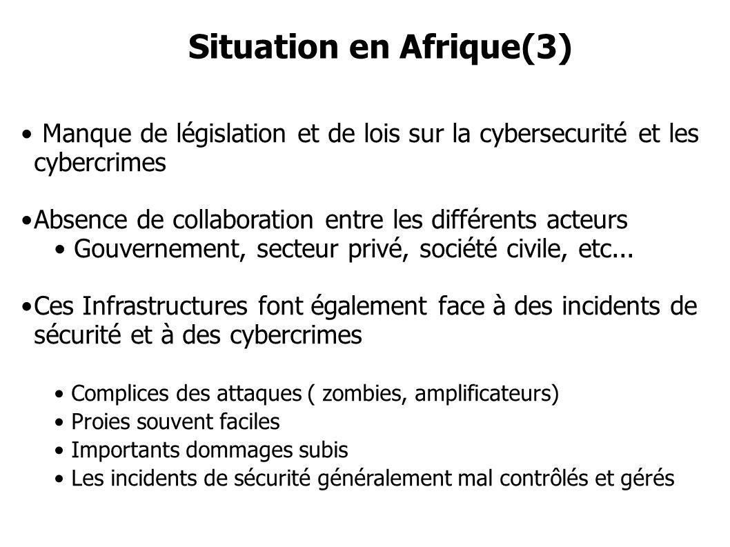 Situation en Afrique(3)