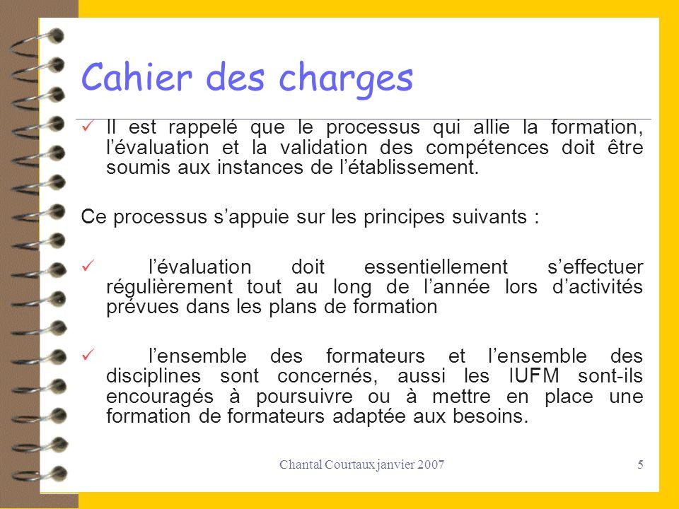 Chantal Courtaux janvier 2007