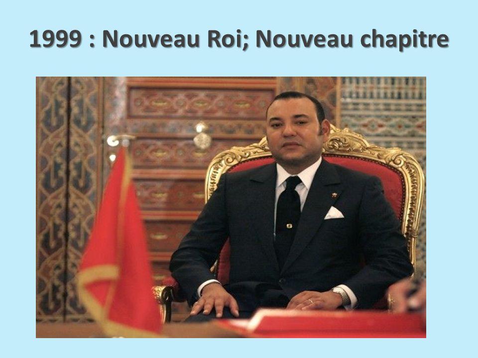 1999 : Nouveau Roi; Nouveau chapitre