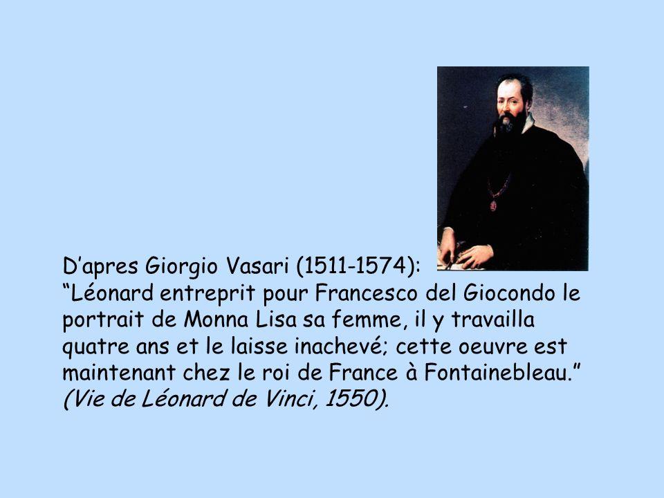 D'apres Giorgio Vasari (1511-1574):