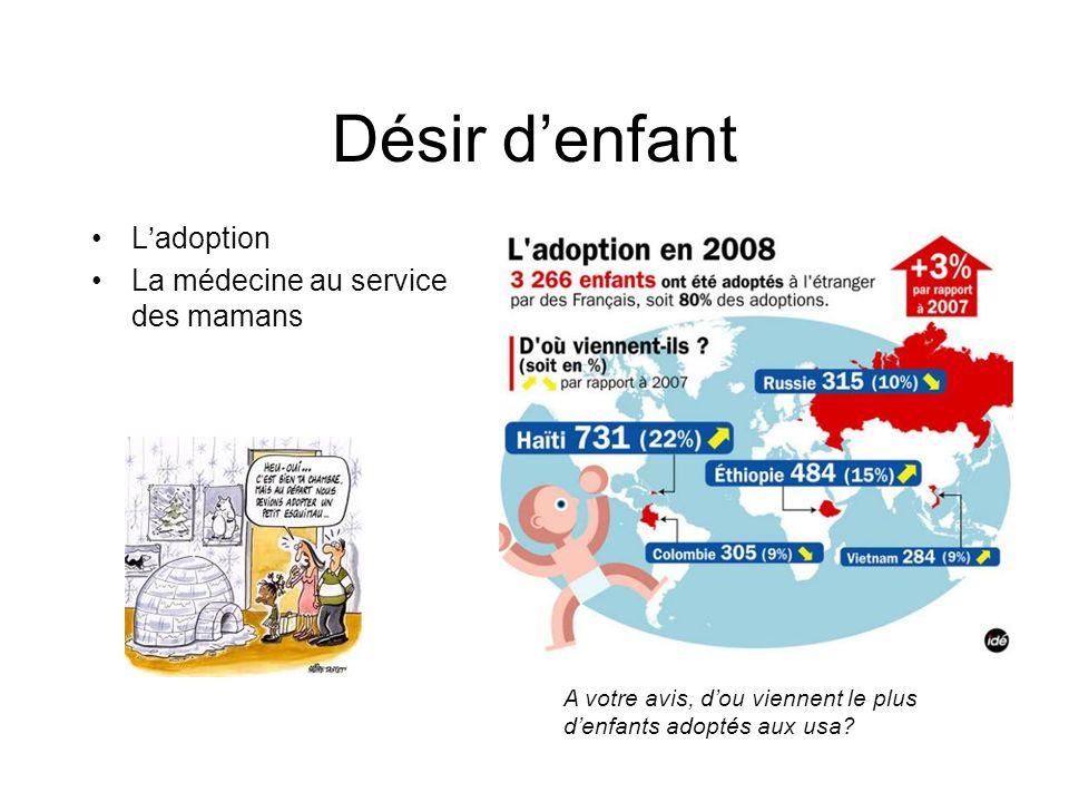 Désir d'enfant L'adoption La médecine au service des mamans