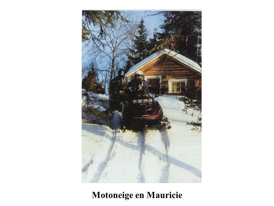 Motoneige en Mauricie