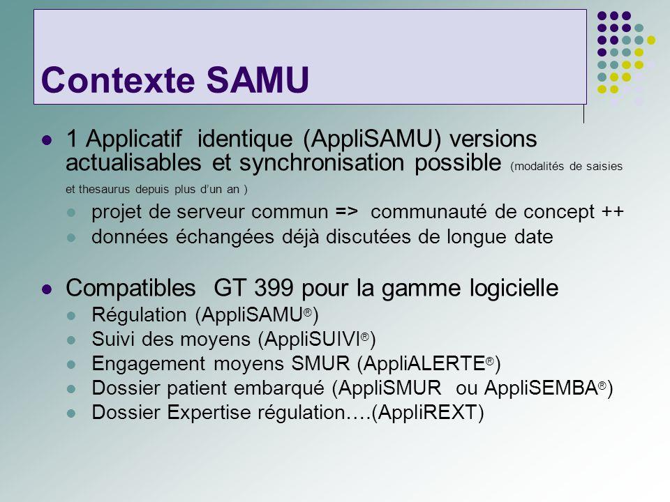 Contexte SAMU