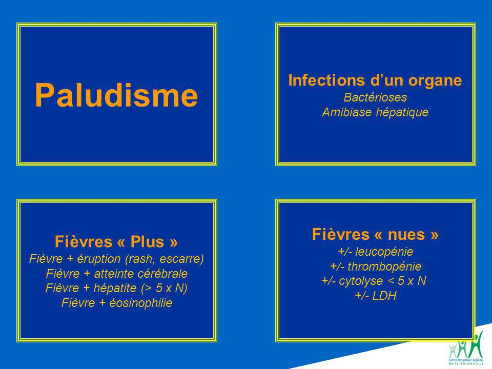 Infections d'un organe